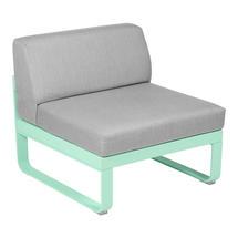 Bellevie 1 Seater Central Module - Opaline Green/Flannel Grey
