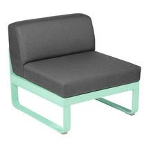 Bellevie 1 Seater Central Module - Opaline Green/Graphite Grey