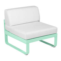 Bellevie 1 Seater Central Module - Opaline Green/Off White