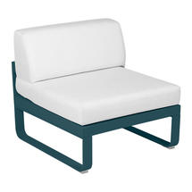 Bellevie 1 Seater Central Module - Acapulco Blue/Off White