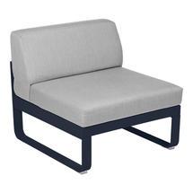 Bellevie 1 Seater Central Module - Deep Blue/Flannel Grey