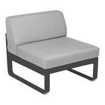 Bellevie 1 Seater Central Module - Anthracite/Flannel Grey