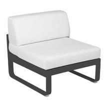 Bellevie 1 Seater Central Module - Anthracite/Off White