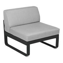 Bellevie 1 Seater Central Module - Liquorice/Flannel Grey