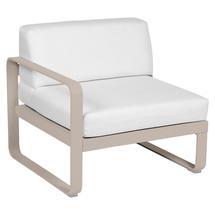 Bellevie 1 Seater Left Module - Nutmeg/Off White