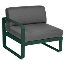 Bellevie 1 Seater Left Module - Cedar Green/Graphite Grey