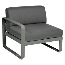 Bellevie 1 Seater Left Module - Rosemary/Graphite Grey