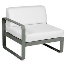 Bellevie 1 Seater Left Module - Rosemary/Off White