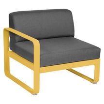 Bellevie 1 Seater Left Module - Honey/Graphite Grey