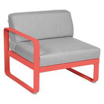 Bellevie 1 Seater Left Module - Capucine/Flannel Grey