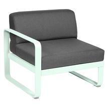 Bellevie 1 Seater Left Module - Ice Mint/Graphite Grey