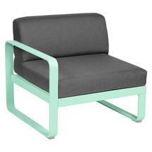 Bellevie 1 Seater Left Module - Opaline Green/Graphite Grey