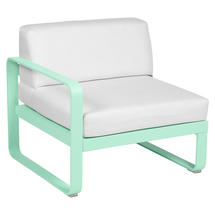 Bellevie 1 Seater Left Module - Opaline Green/Off White