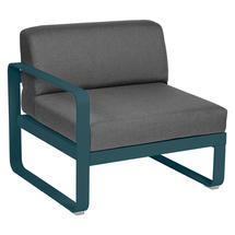 Bellevie 1 Seater Left Module - Acapulco Blue/Graphite Grey