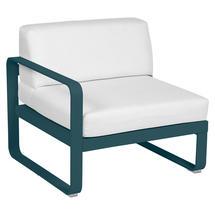 Bellevie 1 Seater Left Module - Acapulco Blue/Off White