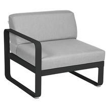 Bellevie 1 Seater Left Module - Liquorice/Flannel Grey