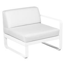 Bellevie 1 Seater Right Module - Cotton White/Off White