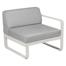 Bellevie 1 Seater Right Module - Clay Grey/Flannel Grey