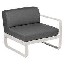 Bellevie 1 Seater Right Module - Clay Grey/Graphite Grey