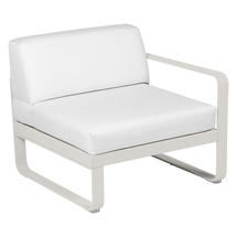 Bellevie 1 Seater Right Module - Clay Grey/Off White