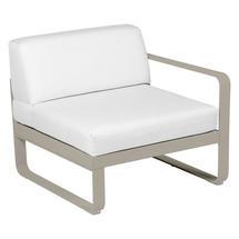 Bellevie 1 Seater Right Module - Nutmeg/Off White