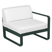 Bellevie 1 Seater Right Module - Cedar Green/Off White