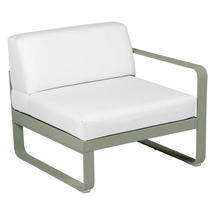 Bellevie 1 Seater Right Module - Cactus/Off White