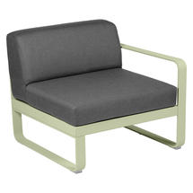 Bellevie 1 Seater Right Module - Willow Green/Graphite Grey