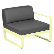 Bellevie 1 Seater Right Module - Frosted Lemon/Graphite Grey