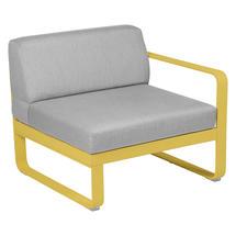 Bellevie 1 Seater Right Module - Honey/Flannel Grey