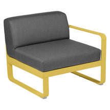 Bellevie 1 Seater Right Module - Honey/Graphite Grey