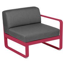Bellevie 1 Seater Right Module - Pink Praline/Flannel Grey