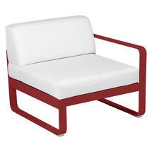 Bellevie 1 Seater Right Module - Poppy/Off White