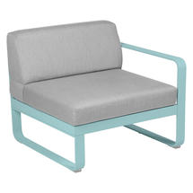 Bellevie 1 Seater Right Module - Lagoon Blue/Off White