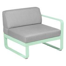Bellevie 1 Seater Right Module - Opaline Green/Flannel Grey