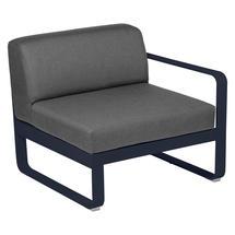 Bellevie 1 Seater Right Module - Deep Blue/Graphite Grey