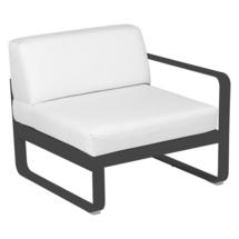 Bellevie 1 Seater Right Module - Anthracite/Off White