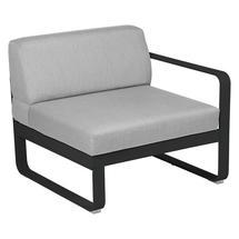 Bellevie 1 Seater Right Module - Liquorice/Flannel Grey