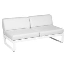 Bellevie 2 Seater Central Module - Cotton White/Off White