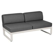 Bellevie 2 Seater Central Module - Clay Grey/Graphite Grey