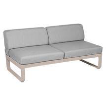 Bellevie 2 Seater Central Module - Nutmeg/Flannel Grey