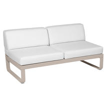 Bellevie 2 Seater Central Module - Nutmeg/Off White