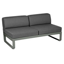Bellevie 2 Seater Central Module - Rosemary/Graphite Grey