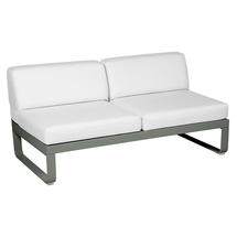 Bellevie 2 Seater Central Module - Rosemary/Off White