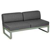 Bellevie 2 Seater Central Module - Cactus/Graphite Grey