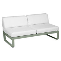 Bellevie 2 Seater Central Module - Cactus/Off White