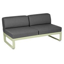 Bellevie 2 Seater Central Module - Willow Green/Graphite Grey