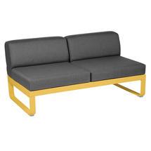 Bellevie 2 Seater Central Module - Honey/Graphite Grey