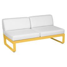 Bellevie 2 Seater Central Module - Honey/Off White