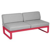 Bellevie 2 Seater Central Module - Capucine/Flannel Grey
